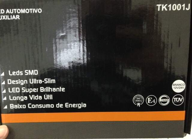 Led Branco Auxiliar Automotivo TESLLA TK1001J