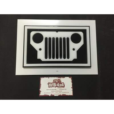 Quadro Decorativo Jeep CJ3B