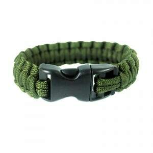 Pulseira Paracord Simples - Verde