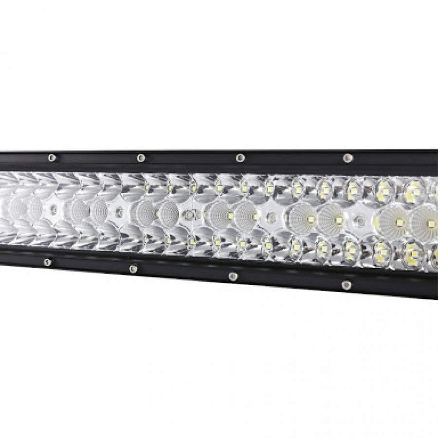 BARRA LED OFF ROAD CURVA 480W 42 CREE LEDS TRIPLA FILEIRAS LED
