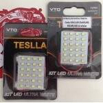 Kit Led Luz Interna Teslla  ( kit pra por na luz do teto de dentro do carro)