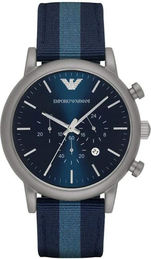 Relógio Emporio Armani Men's Chronograph Watch with Quartz