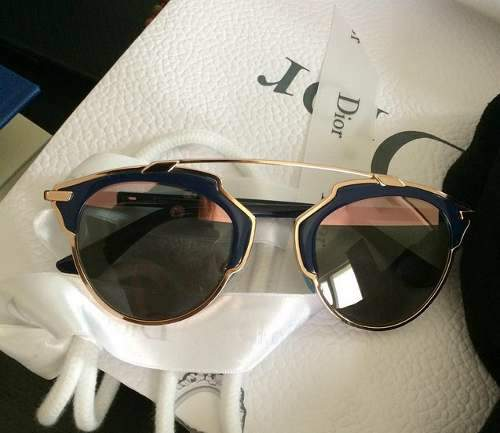 9cb7638f9f6 Oculos Dior So Real Original - bleu marine