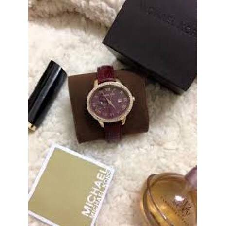 Relogio Michael Kors Women\\\'s Whitley Red Watch MK2430