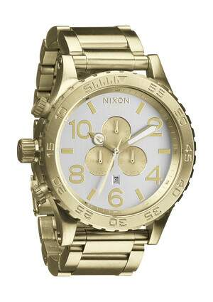 Relogio Nixon Chrono Mens Model 51-30 Original na Caixa com Manual