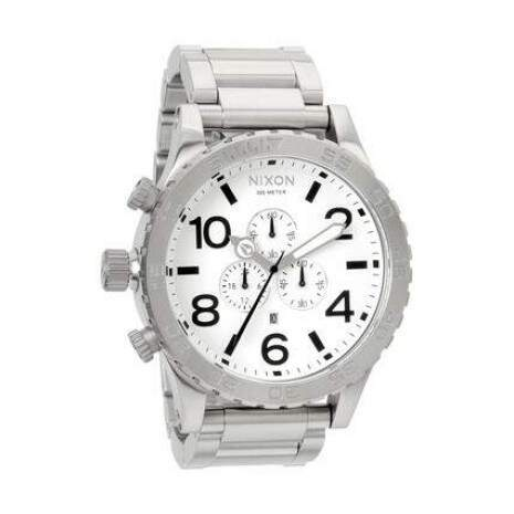 4c1ae882273 Relogio Nixon Chrono Mens Model 51-30 Original na Caixa com Manual · Relogio  ...