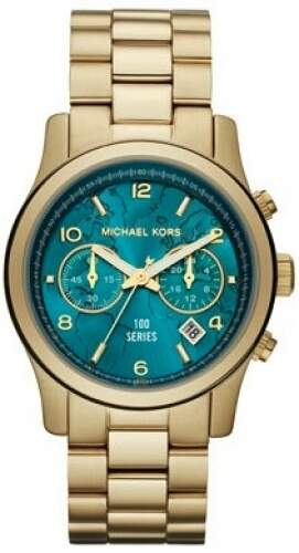 Relógio Michael Kors Mk5815 World Hunger Completo Original
