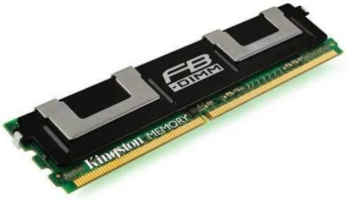 Memoria 2GB DDR2 667 - ECC Fully Buffered - Kingston - KVR667D2D8F5/2G