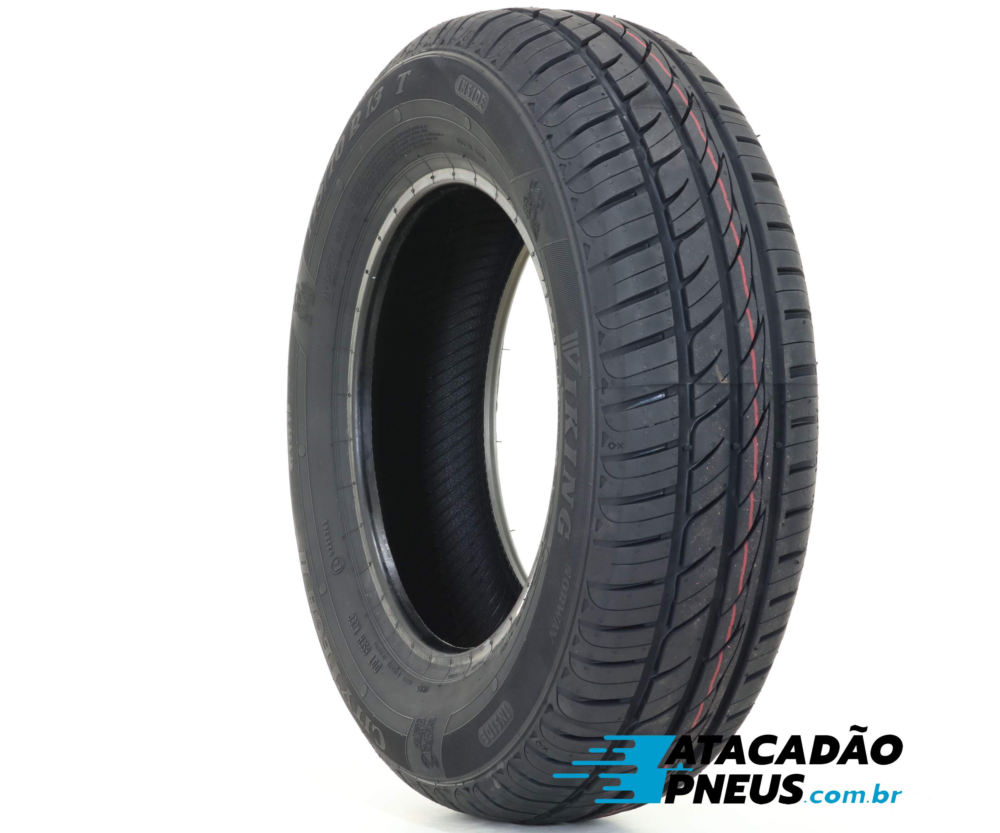 Pneu Aro 13 Viking 175/70R13 82T City Tech II (By Continental)