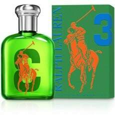 RALPH LAUREN - Polo Big Pony Green #3 Eau de Toilette Masculino