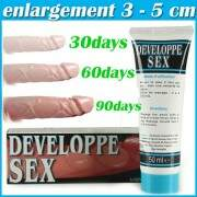 Creme Developpe Sex Aumenta Pênis Importado 50 ml