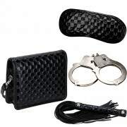Kit dominadora bolsa de luxo fetiche  - ULTIMATE BONDAGE FASCINATION - NANMA