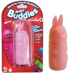 Estimulador com cápsula vibratória - BULLET BUDDIES BUNNY - THE SCREAMING O