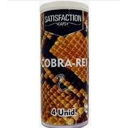 Quadriball Bolinhas Explosivas Cobra Rei  Satisfaction Caps com 4 und