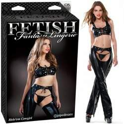 Conjunto de cow girl médio - RIDE EM COWGIRL ONE SIZE - PIPEDREAM