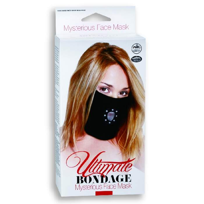 Máscara fetiche - MYSTERIOUS FACE MASK - ULTIMATE BONDAGE NANMA