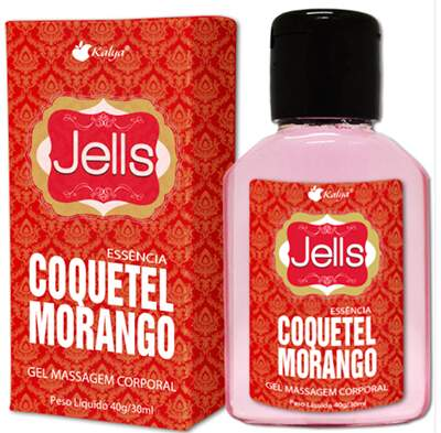 Jells Coquetel de Morango Hot 30 ml