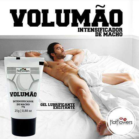 Gel Excitante Masculino Volumão 25gr