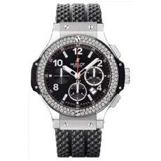 Relogio Hublot Big Bang Steel Diamonds