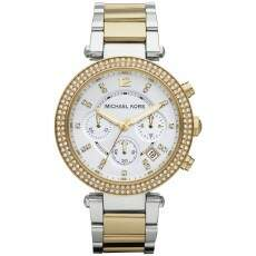 Relógio Michael Kors Parker Two Tone Chronograph Ladies Watch MK5626