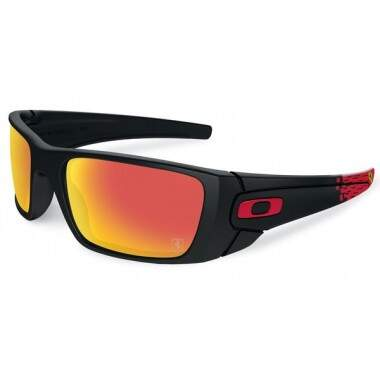 ÓCULOS DE SOL OAKLEY FERRARI COLLECTION SPECIAL EDITION FUEL CELL MATTE BLACK SUNGLASSES OO9096-A8