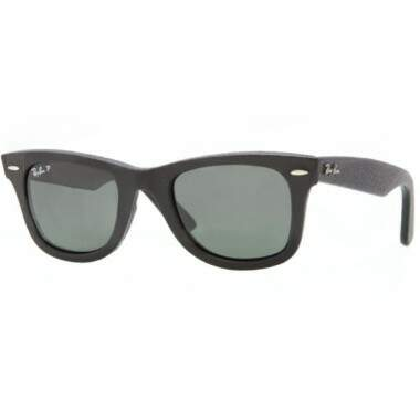 ÓCULOS DE SOL RAY-BAN - RB2140QM 1152/N5 WAYFARER LEATHER POLARIZED