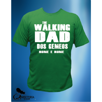 CAMISETA THE WALKING DAD