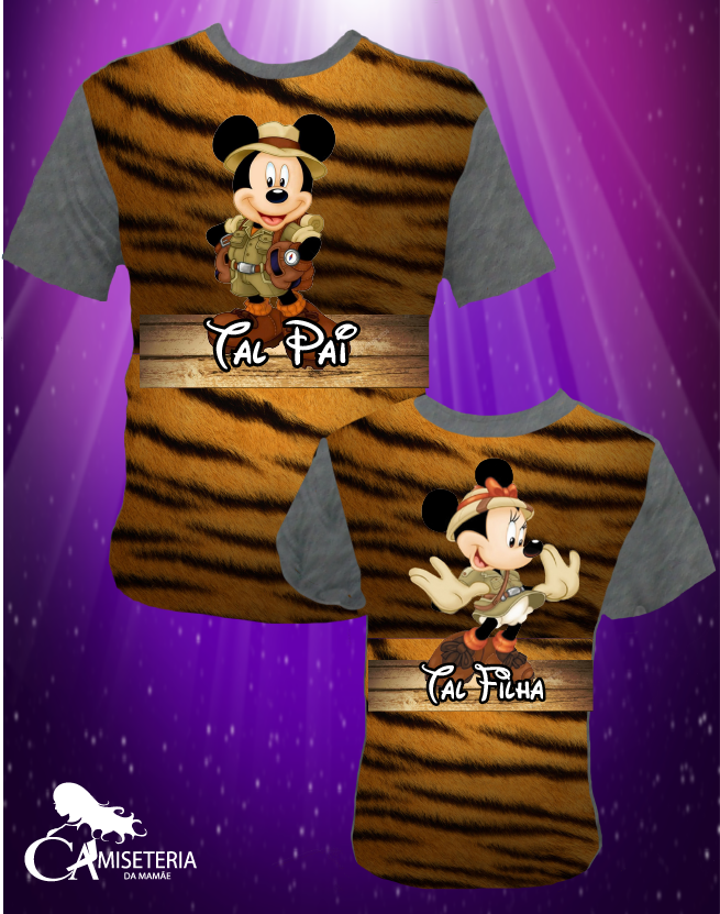 KIT MINNIE/MICKEY SAFARI