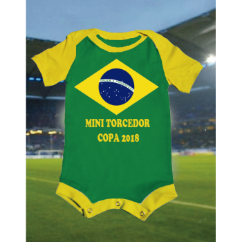 CAMISETA/BODY MINI TORCEDOR - COPA