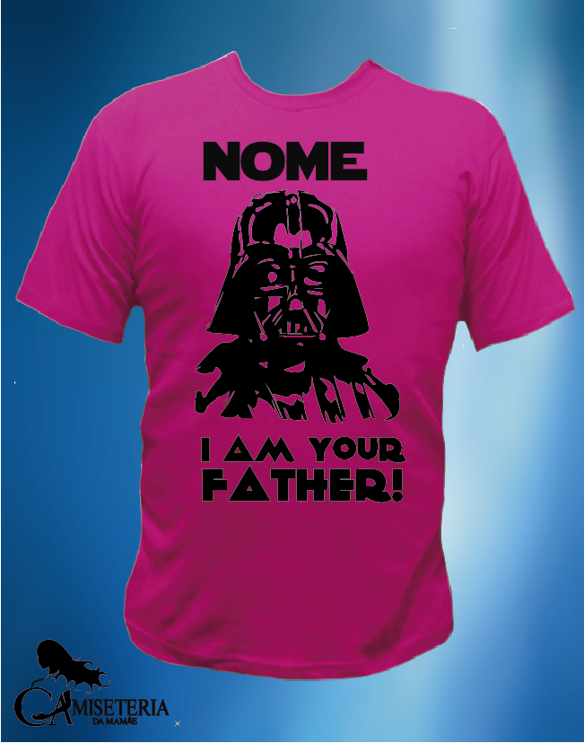 CAMISETA DARTH FATHER