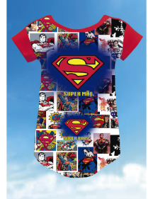 CAMISETA SUPERMAN QUADRINHOS