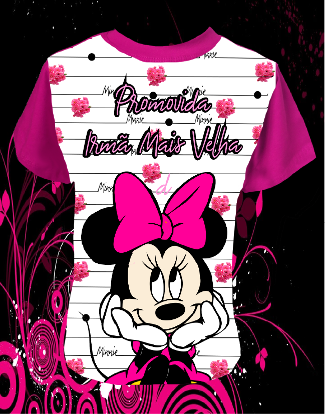 CAMISETA IRMÃ MINNIE