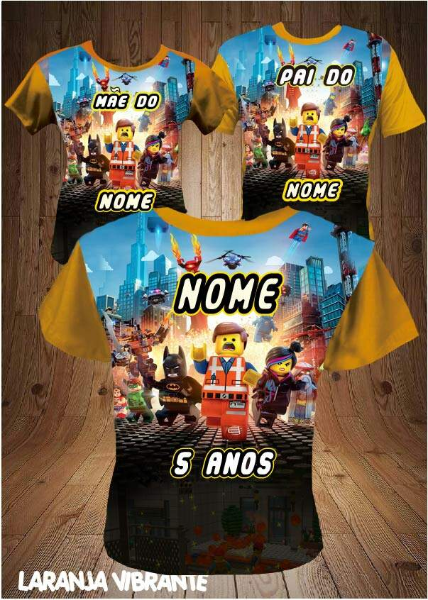 KIT ANIVERSARIO LEGO TURMA MOVIE