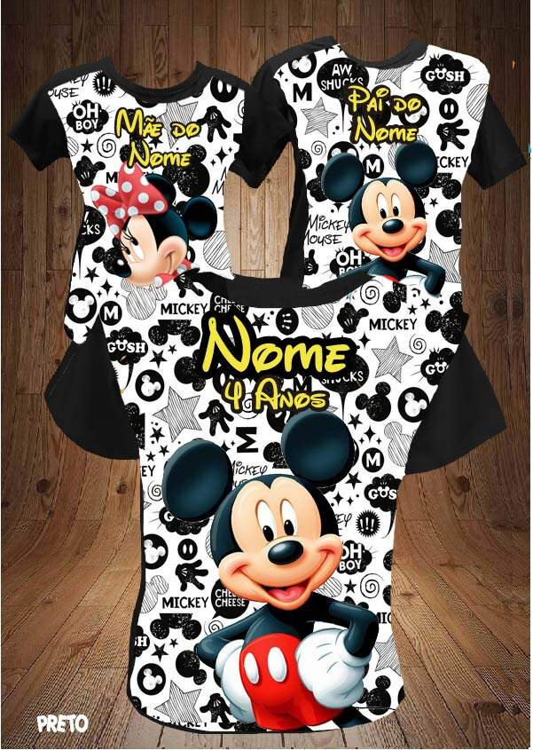 KIT ANIVERSARIO MICKEY/MINNIE PB