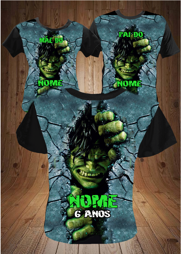KIT ANIVERSARIO HULK WALL