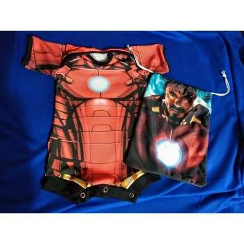 BODY IRON MAN ARMADURA