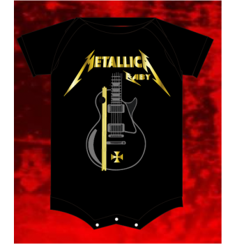 BODY/ CAMISETA METALLICA BABY
