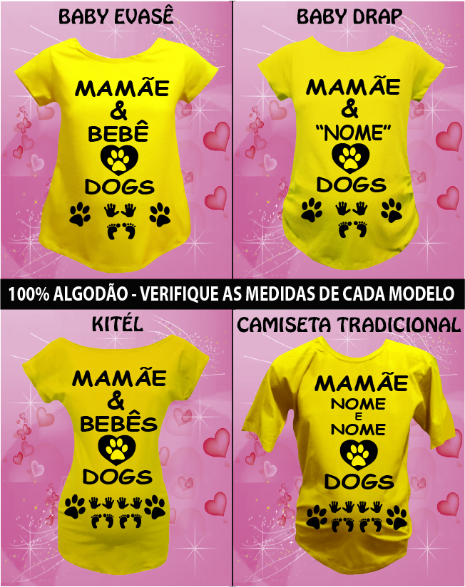 CAMISETA LOVE DOGS