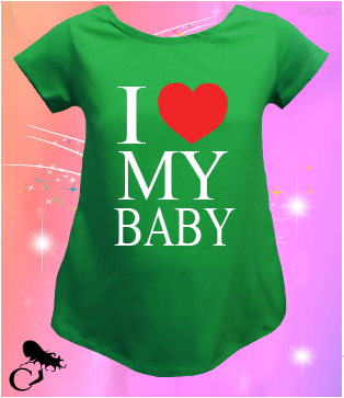 CAMISETA I LOVE MY BABY (BABIES)
