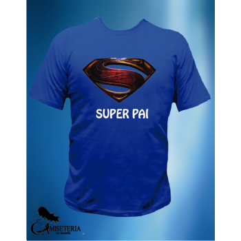 CAMISETA SUPER PAI STEEL