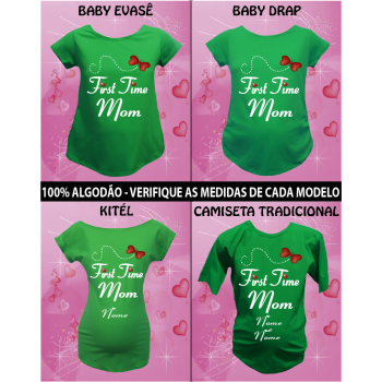 CAMISETA FIRST TIME MOM