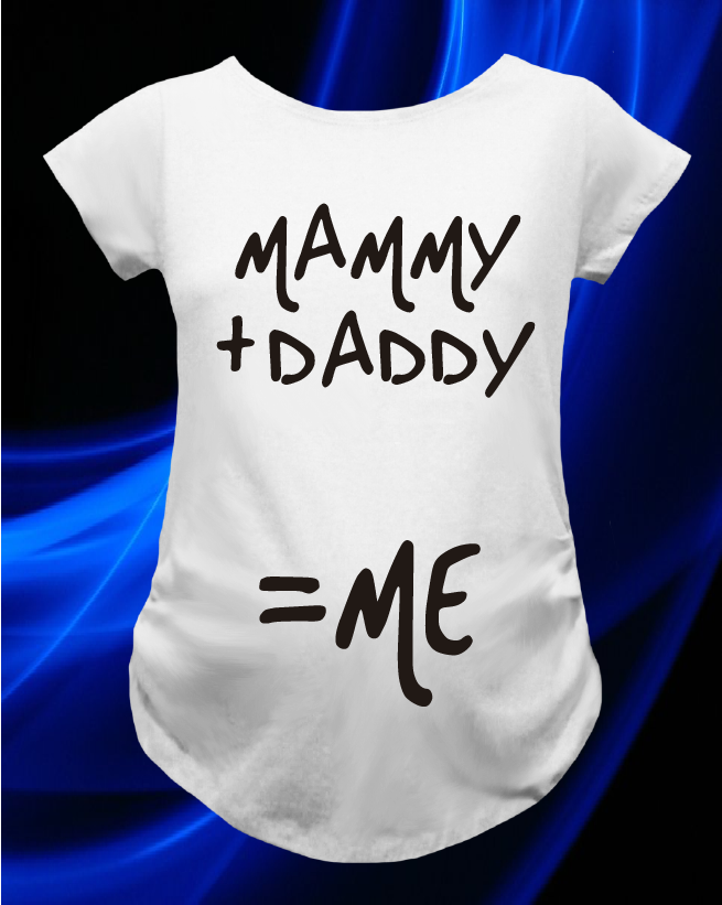 CAMISETA MAMMY+DADDY