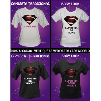 CAMISETA SUPER TIA