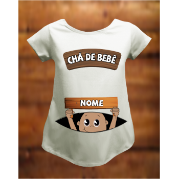 CAMISETA CHÁ PLACA