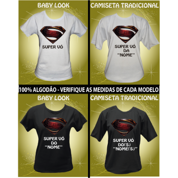 CAMISETA SUPER VÓ