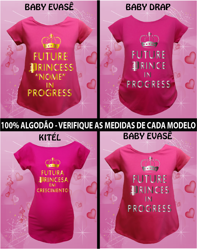 CAMISETA FUTURE PRINCE / PRICESS