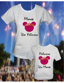 KIT MINNIE MAE e FILHA (O)