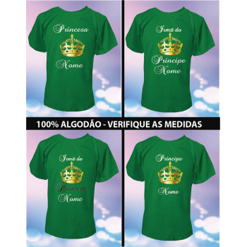 CAMISETA PRÍNCIPE/PRINCESA KEEP
