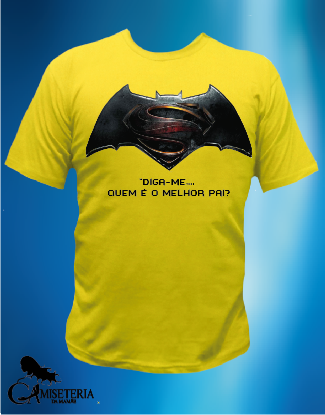 CAMISETA SUPER BATMAN