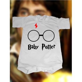 CAMISETA/BODY BABY POTTER